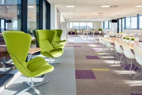 Human centred office design - NHS Cardiff office by Rype Office