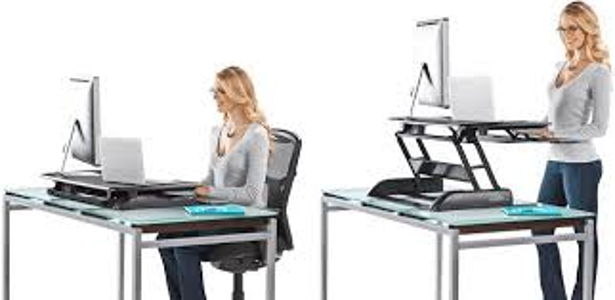 Avoiding back pain: Varidesk