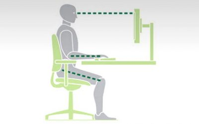 How to set up a desk chair
