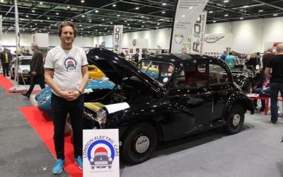 Circularity Champion: London Electric Cars – classic cars into electric vehicles