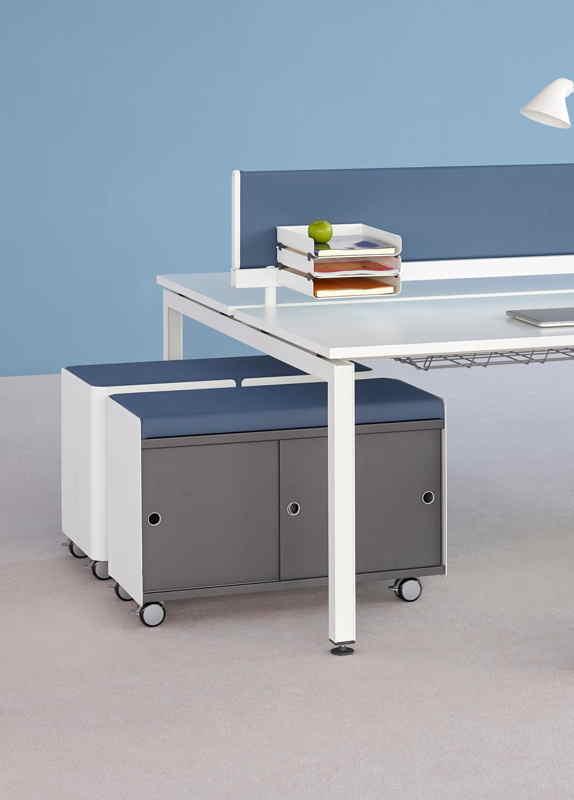 Herman Miller Sense bench desk