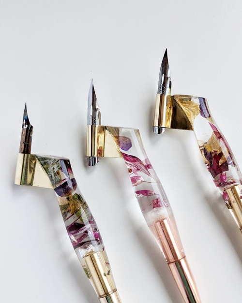 Tom Gyr's calligraphy pens