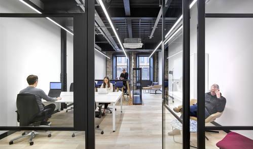 McLellan Works full office