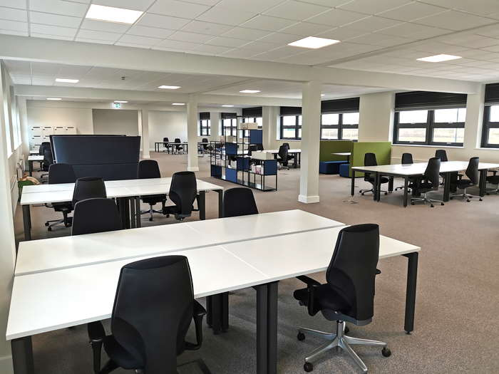 Node Cowork desk area